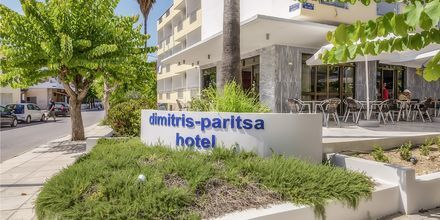 Hotell Paritsa i Kos stad, Grekland.