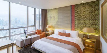 Deluxerum på hotell Pathumwan Princess i Bangkok Thailand.