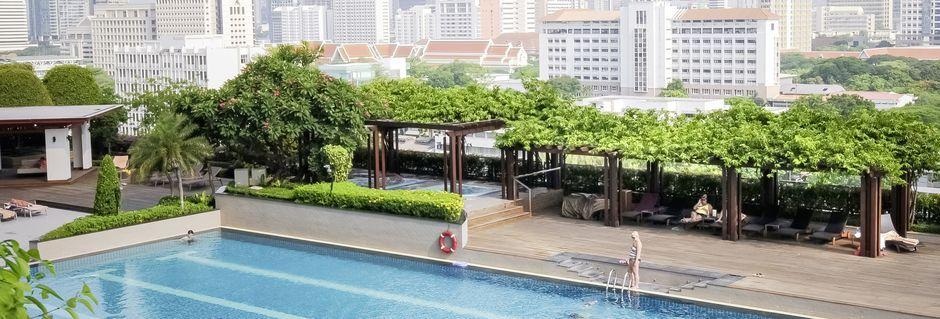 Hotell Pathumwan Princess i Bangkok Thailand.