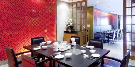 Pings Thai Teochew Seafood Restaurant på hotell Pathumwan Princess i Bangkok Thailand.