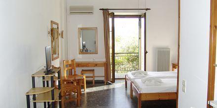 Dubbelrum/Enkelrum på hotell Patriarcheas i Kardamili, Grekland.