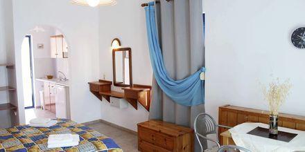 Enrumslägenhet på hotell Pavlis i Votsalakia på Samos, Grekland.
