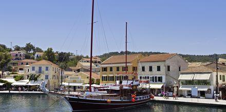 Gaios på Paxos i Grekland.