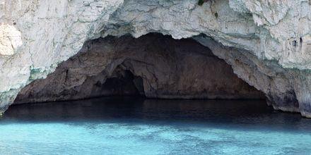 Grottorna på Paxos.