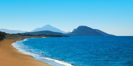 Stranden Costa Navarino.