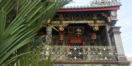 Ett av Penangs mest vackra tempel, Khoo Kongsi.