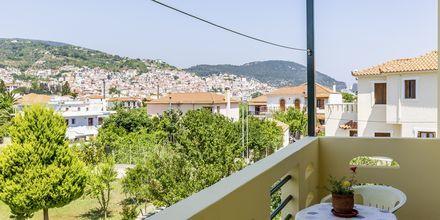 Pension Soula på Skopelos i Grekland.