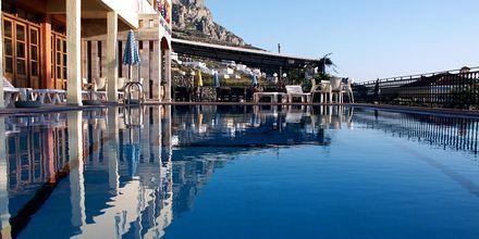 Poolen på hotell Philoxenia i Massouri på Kalymnos, Grekland.