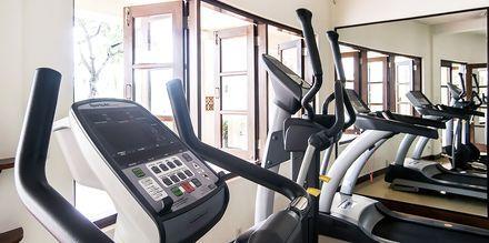 Gym på hotell Phu Hai Resort i Phan Thiet, Vietnam.