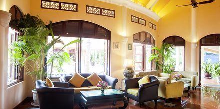 Reception på hotell Phu Hai Resort i Phan Thiet, Vietnam.