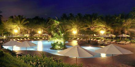 Poolområdet på hotell Phu Hai Resort i Phan Thiet, Vietnam.