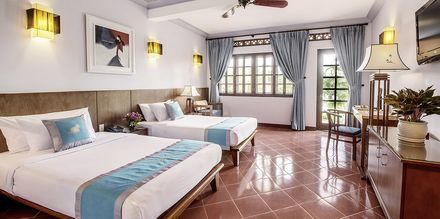 Deluxerum på hotell Phu Hai Resort i Phan Thiet, Vietnam.