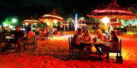 Strandrestaurang på Phu Quoc i Vietnam.