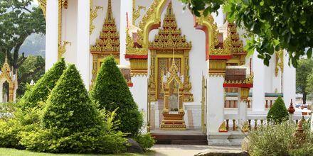Wat Chalong är ett av Phukets viktigaste buddhistiska tempel.