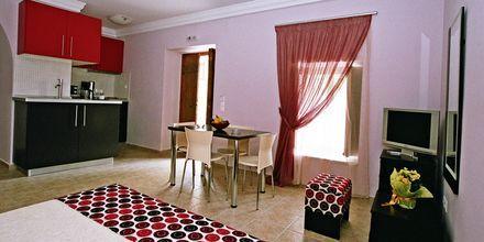 Enrumslägenhet på hotell Pierides i Kardamili, Grekland.