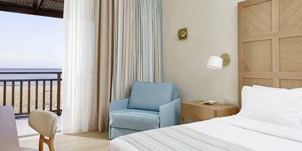 Dubbelrum på hotell Pilot Beach i Georgioupolis på Kreta, Grekland.