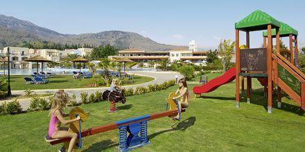 Lekplats på hotell Pilot Beach i Georgioupolis på Kreta, Grekland.