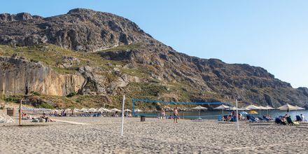 Strandsporter i Plakias.