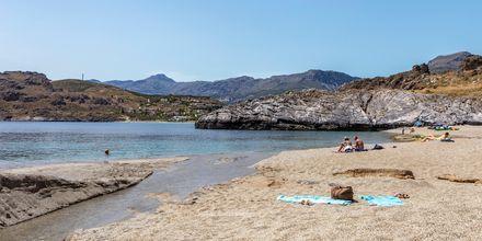 Stranden i Plakias är perfekt för dig som vill ha gott om plats och komma undan de stora folkmassorna.