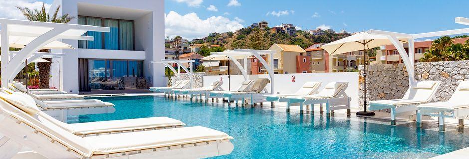 Hotell Platanias Ariston, Kreta.