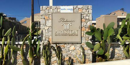Hotell Platanias Ariston i Platanias, Kreta.