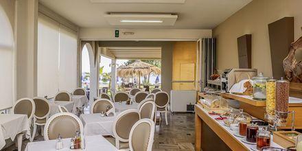 Restaurang på hotell Platanias Mare i Platanias, Kreta.