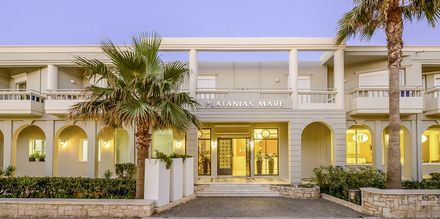 Hotell Platanias Mare i Platanias, Kreta.