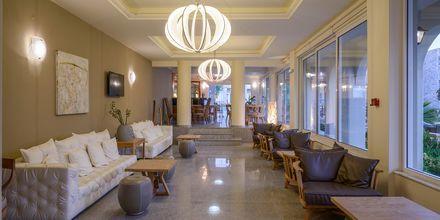 Lobby på hotell Platanias Mare i Platanias, Kreta.