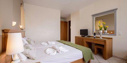 Dubbelrum på hotell Platanias Mare i Platanias, Kreta.