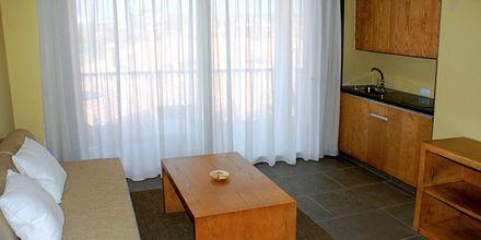 Större enrumslägenhet på hotell Playa Calera på La Gomera, Kanarieöarna.