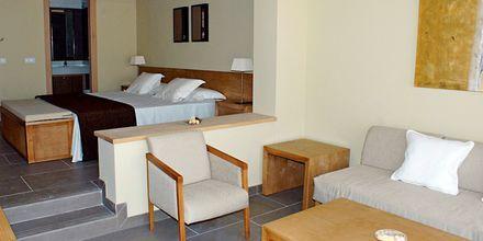 Större enrumslägenhet på hotell Playa Calera på La Gomera, Spanien.