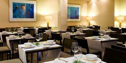 Restaurangen på hotell Playa Calera på La Gomera, Spanien.
