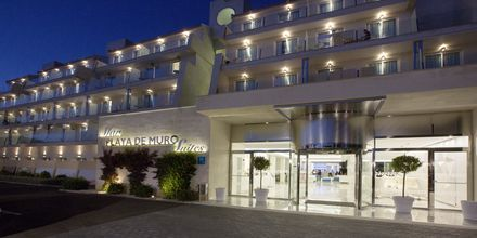 Entré på hotell Playa de Muro Suites Mar Hotels i Alcudia på Mallorca.