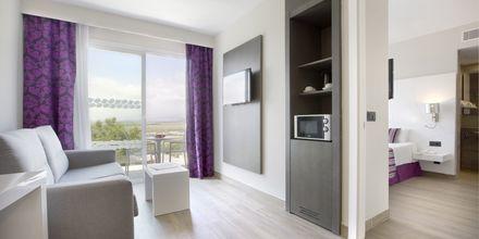 Superiorsvit på hotell Playa de Muro Suites Mar Hotels i Alcudia på Mallorca.