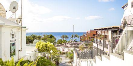 Playa del Cura på Gran Canaria, Spanien.