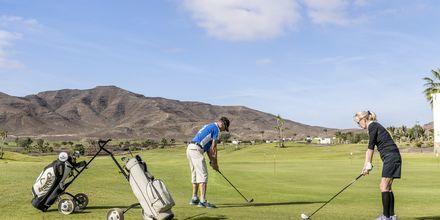 Golf på Playitas Resort, Fuerteventura.