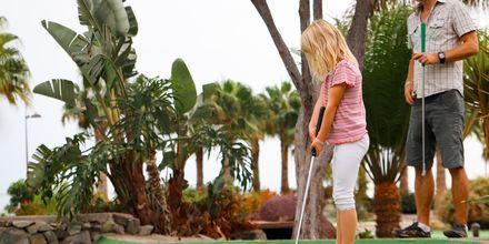 Minigolf på Playitas Resort