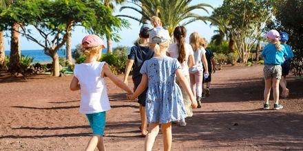 Barnklubben Club Polly & Mino på Playitas Resort