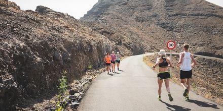 Löpning på Fuerteventura