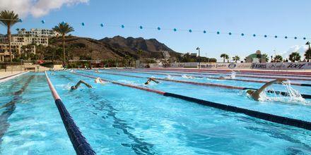 Olympisk pool på Playitas Resort