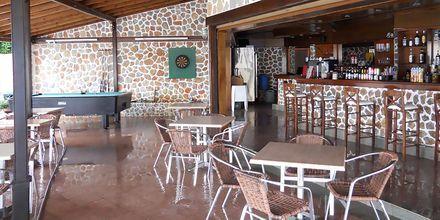 Restaurang på hotell Plaza på Kalymnos, Grekland.