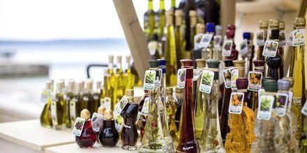 Köp med dig lokalproducerade råvaror från Podgora i Kroatien.