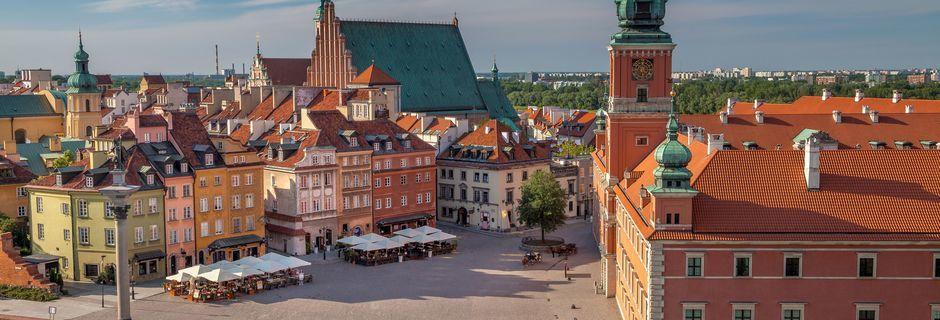 Polens huvudstad Warszawa är en prisvärd stad att resa till.