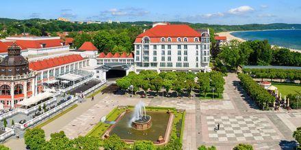 Sopot är en pittoresk liten stad, bara 20 minuter från Gdansk med tåg.