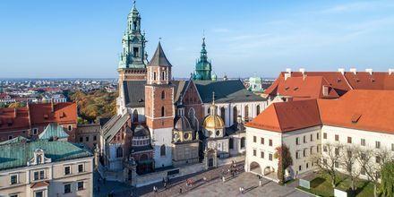 Wavel Castle i Krakow, Polen.