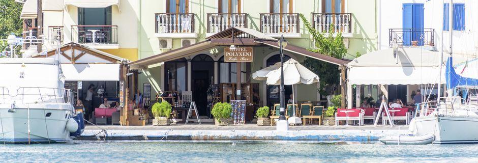 Hotell Polixeni på Samos i Grekland.