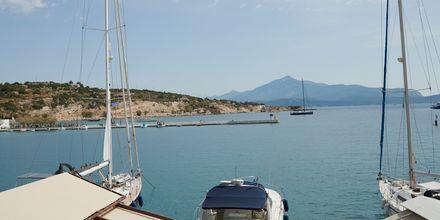 Hotell Polixeni i Pythagorion på Samos, Grekland.