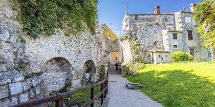 Porec är en stad med lång historia.