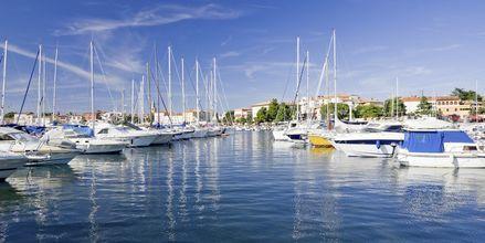 Marinan i Porec, Kroatien.