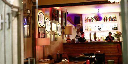 Bar i Portimao på Algarvekusten, Portugal.
